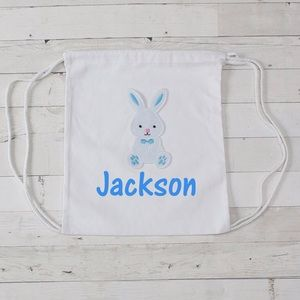 Other - Personalized Canvas Easter Bunny Bags
